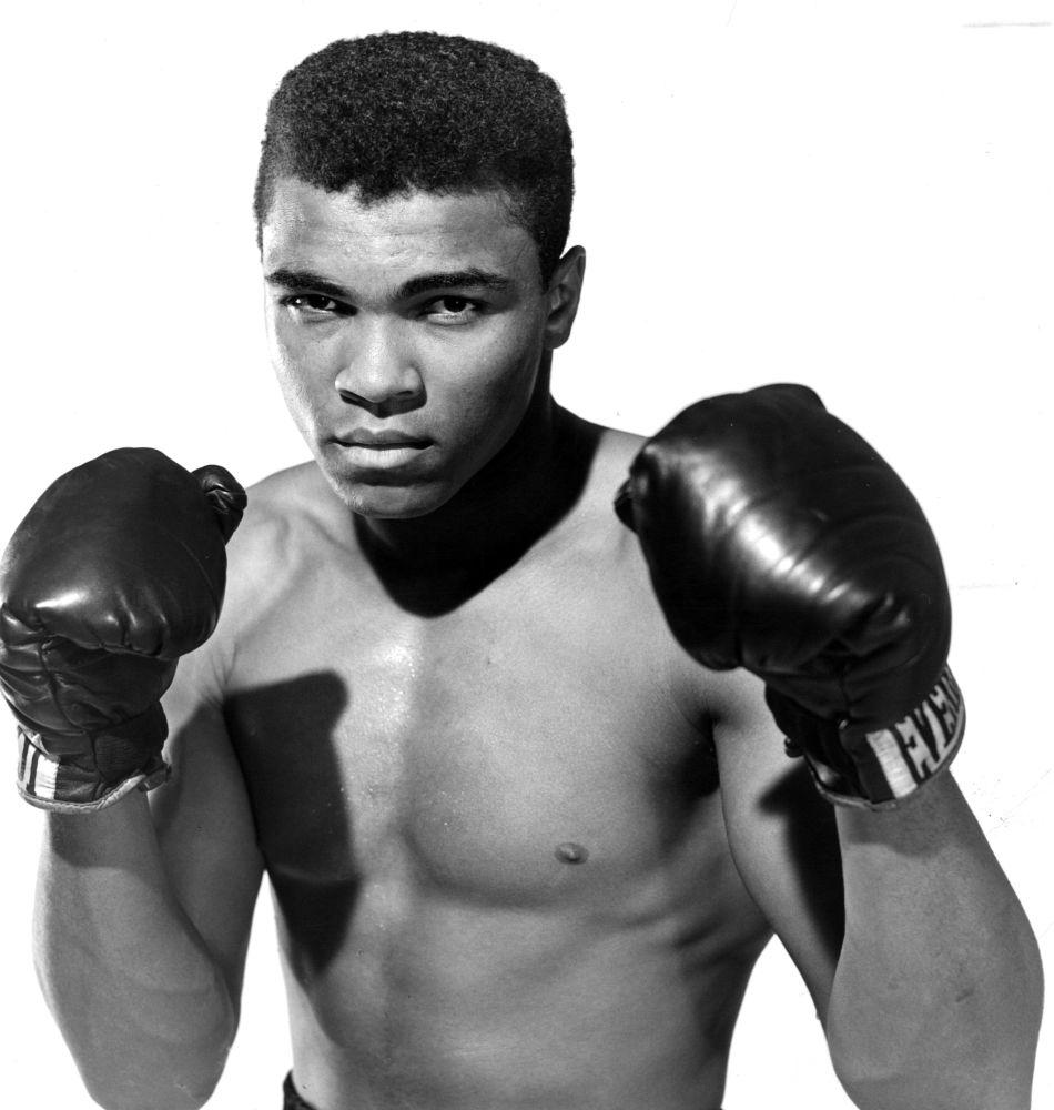 Легендата – Мохамед Али, световният шампион в най – тежката категория в бокса.