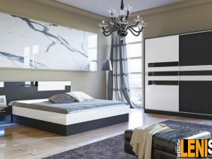 Изящен и уникален комфорт ще постигнете с този спален комплект