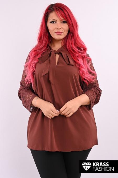 макси блуза