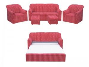 Перфектен интериор с качествените мебели на лени стил