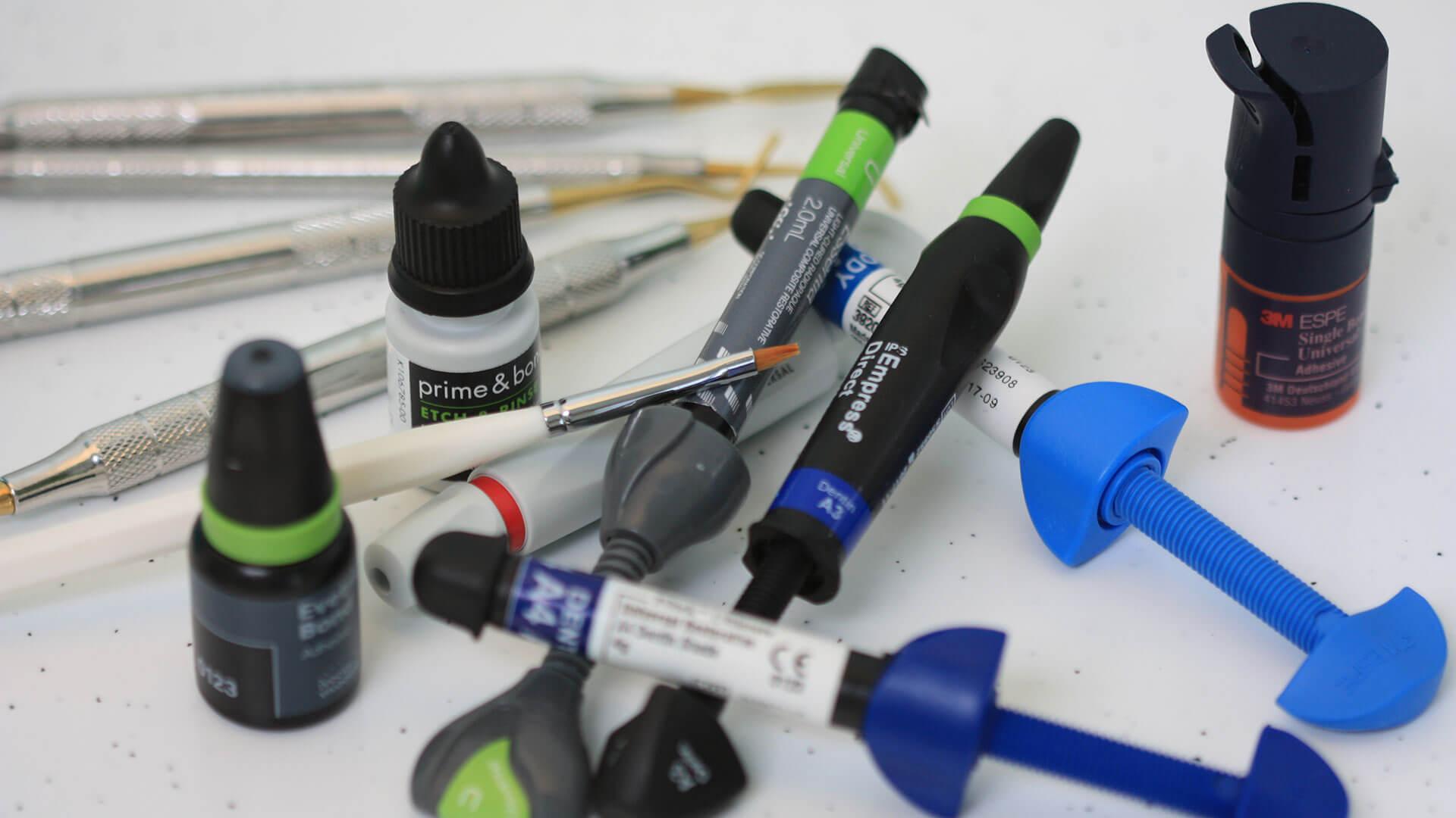 Кои са най-често използваните стоматологични материали?